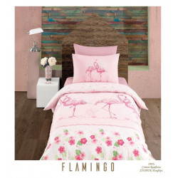 Юношеско спално бельо делукс от 100% памук  - FLAMINGO от StyleZone