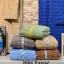 Детски  хавлиен  халат за баня от 100% памук за момче - КАФЯВ от StyleZone