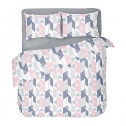 Бългрско цветно спално бельо от 100% памук - АЛЕКСА от StyleZone