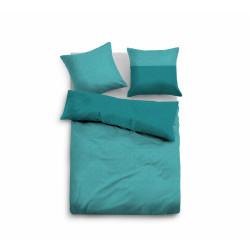 Спално бельо от 100% памук сатен  Tom Tailor - TURQUOISE от StyleZone