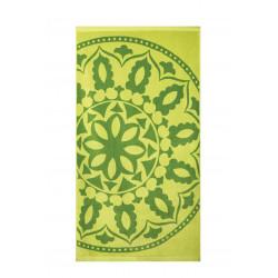 Плажна кърпа от висококачествен 100% памук - ЗЕЛЕН МЕДАЛЬОН от StyleZone