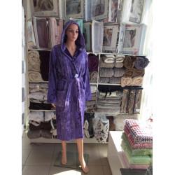 Удобен халат за баня 100% памук - МОНИ 7 от StyleZone