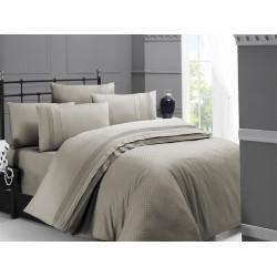 Спално бельо делукс сатен - SQUARE STYLE TOPRAK от StyleZone
