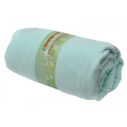 Чаршаф с ластик 100% Памук - зелен от StyleZone