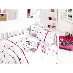 Бебешко спално бельо - Stork Pembe от StyleZone