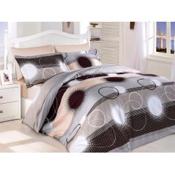 Луксозно спално бельо от сатениран памук -  ELENA KAHVE от StyleZone
