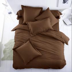 Плик за олекотена завивка от 100% памук - ТЪМНОКАФЯВ от StyleZone