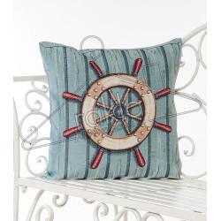 Испанска декоративна възглавница с цип - РУЛ СИНЬО от StyleZone