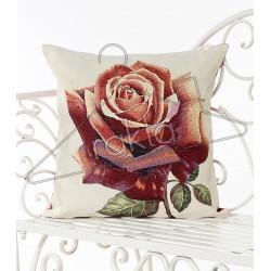Испанска декоративна калъфка за възглавница с цип - РОЗА от StyleZone