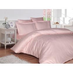 Луксозно спално бельо от 100% памучен сатен - жакард - LAPPY PEMBE от StyleZone