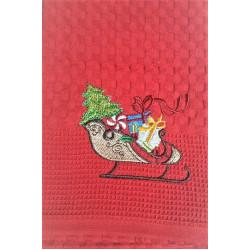 Коледна бродирана кърпа - КОЛЕДНА ШЕЙНА от StyleZone
