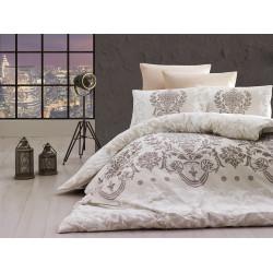 Лимитирана колекция спално бельо от 100% памук - DALYAN EKRU от StyleZone