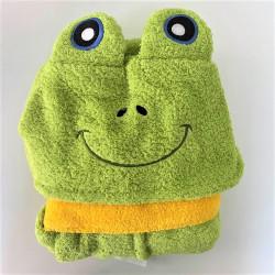 Детски халат за баня 100% Микропамук - ЖАБКА от StyleZone
