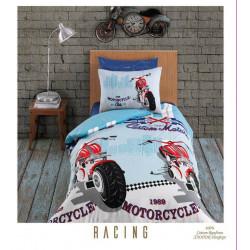 Юношеско спално бельо делукс от 100% памук  -  RACING от StyleZone