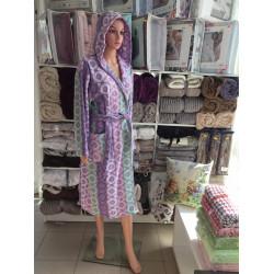Удобен халат за баня 100% памук - МОНИ 8 от StyleZone