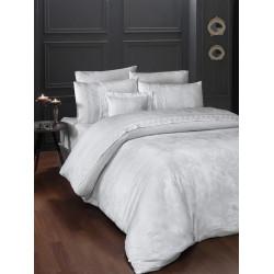 Вип спално бельо от висококачествен сатен - BUHARA BEYAZ от StyleZone