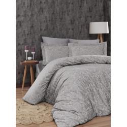 Луксозно спално бельо от 100% сатениран памук - LIMA BEJ от StyleZone