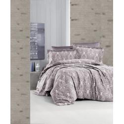 Луксозно спално бельо от 100% сатениран памук - DELMOR LEYLAK от StyleZone