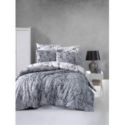 Лимитирана колекция спално бельо от 100% памук ранфорс - ZENA GRI от StyleZone