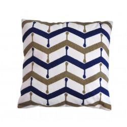 Декоративна възглавница с бродерия - BLUE SKY от StyleZone
