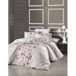 Лимитирана колекция спално бельо от 100% памук - LUISA ECRU от StyleZone