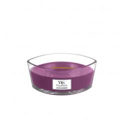 Висококачествена ароматна свещ -  WOODWICK ELLIPSE  BLACKBERRY от StyleZone
