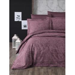 Луксозно спално бельо от  сатениран памук- NEVA CHERRY от StyleZone