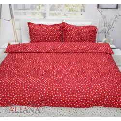 Българско спално бельо от 100% памук ранфорс - ЧЕРВЕНИ ЗВЕЗДИ от StyleZone