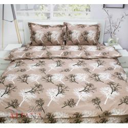 Българско спално бельо от 100% памук ранфорс - ДЪРВЕТА В КАФЯВО от StyleZone
