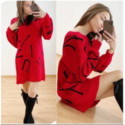 Дамски пуловер-туника