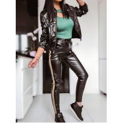 Комплект яке и панталон от ЕКО кожа