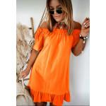 Къса цветна рокличка