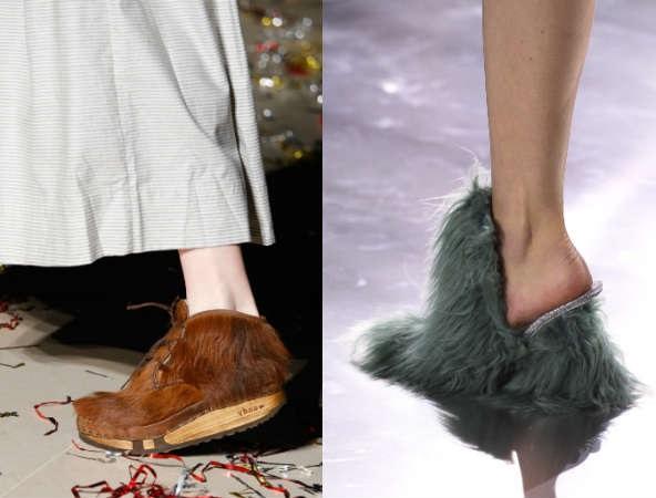 be90e824aa6 Тази година модните дизайнери ни съветват да експериментираме с обувки в  по-смели цветове. Класическото черно, бялото и бежовото си остават  актуални, ...